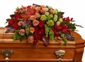 Autumn Rememberance Casket Spray