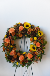 Autumn Remembrance Standing Wreath