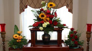Autumn Rest Cremation Arc Set