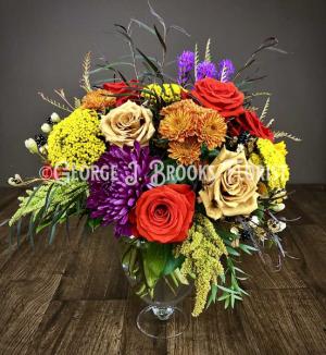 AUTUMN ROMANCE  in Brattleboro, VT | George J. Brooks Florist LLC