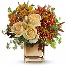 Autumn Gold Fall Floral Bouquet in Whitesboro, NY | KOWALSKI FLOWERS INC.