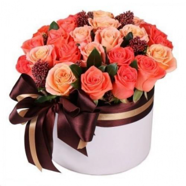Autumn Romance Hat Box