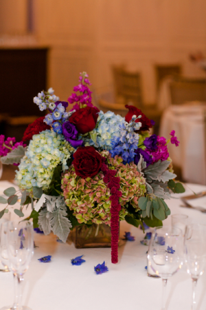 Autumn Romance Low Centerpiece   in Northport, NY | Hengstenberg's Florist