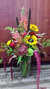 Autumn Shinanigans Vase Arrangement