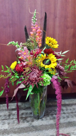 Autumn Shinanigans Vase Arrangement