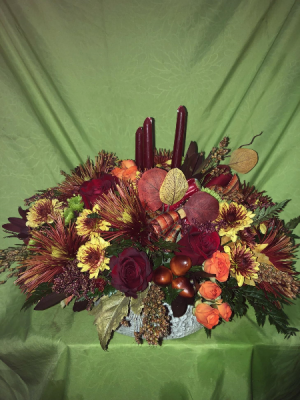Autumn Splender Centerpiece in Nampa, ID | FLOWERS BY MY MICHELLE