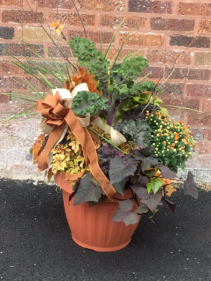 Autumn Splendor Combo   Outdoor Combination Pot