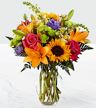 Autumn Splendor Vase Arrangement