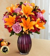 Autumn Splendor Vase