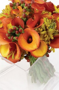 Autumn Spread Bridal Bouquet in East Hartford, CT | EDEN'S FLORIST LLC