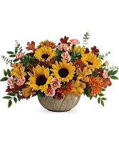 Autumn Sunbeams Centerpiece