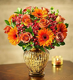 Autumn Sunrise Arrangement in Lexington, NC | RAE'S NORTH POINT FLORIST INC.