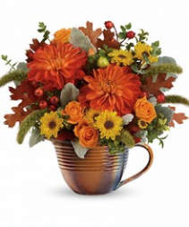 F100 - Autumn Sunrise Arrangement