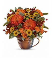 Autumn Sunrise Bouquet Fall Arrangement
