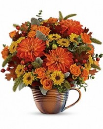 Autumn Sunrise Arrangement