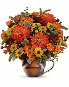 "Autumn Sunrise IT""S A MEASURING CUP!!!  How Cool! in Springfield, IL 