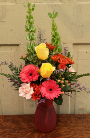 Autumn Sunrise Vase Arrangement