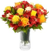 AUTUMN  SUNRISE ROSE   BOUQUET