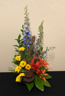Sunset in Autumn Custom Arrangement