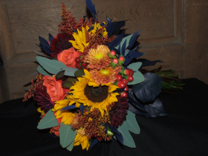 Autumn Sunset Wedding Flowers in Herndon, PA | BITTERSWEET DESIGNS BY LORRIE