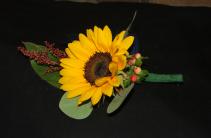 Autumn Sunset Wedding Flowers