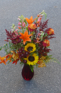 """Nature's Symphony of Flowers $72.00   26""""tall"""