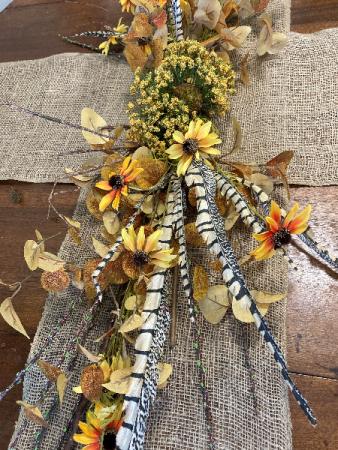 Autumn Table Runner Everlasting Decor