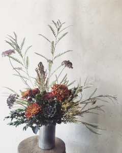 Autumn  Tin Arrangement - Tall