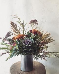 Autumn  Tin Arrangement - Small in Toronto, ON | BOTANY FLORAL STUDIO