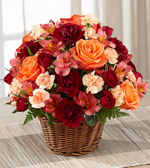 Autumn Treasures Arrangement in Lexington, NC | RAE'S NORTH POINT FLORIST INC.