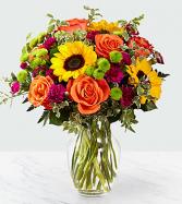 Colorful posies Vase Arrangement