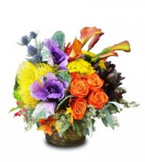 Autumn Vibrance Bouquet