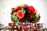 Autumn Wedding Table Centerpiece