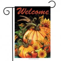 Autumn Welcome Garden Flag
