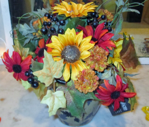 Autumn Wildflowers Permanent Arrangement by Inspirations Floral Studio in Lock Haven, PA | INSPIRATIONS FLORAL STUDIO