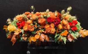 Autumnal Abundance Basket  in Houston, TX | FLOWER FACTORY PLUS