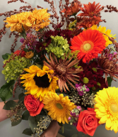Autumnal Abundance Loose Bouquet