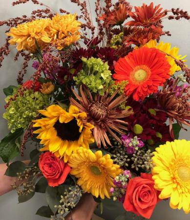Autumnal Abundance Loose Bouquet