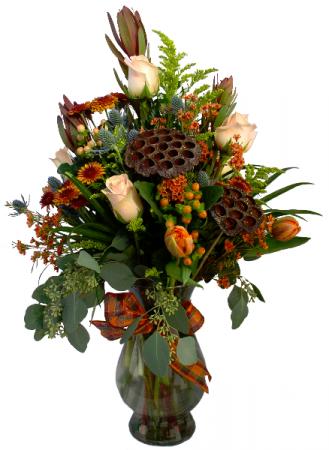 Autumns Garden  Vase Arrangement