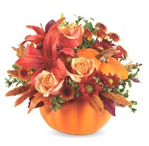 Autumn's Joy  Thanksgiving Arrangement (T12H110A)