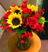 Autumns Splendor Vase
