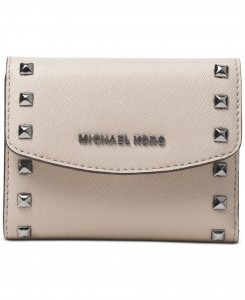 Ava Studded Card Case Michael Kors
