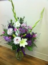 Avante Garden vased bouquet