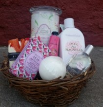 Awesome Blossoms Pamper Me Basket Gift Basket