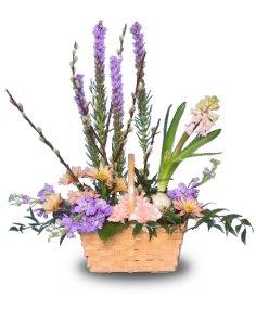 FRAGRANCE GARDEN Basket of Flowers