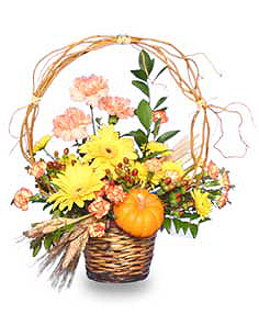 AUTUMN ARBOR Flower Basket
