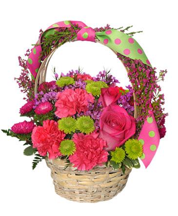 Spring Fever Basket Arrangement