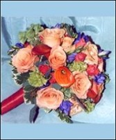 Flower Garden Potpourri Bridesmaid Bouquet
