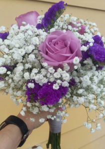 B 3 Fresh Handheld Bouquet
