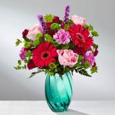 Enchanting Aqua Bouquet FTD 17-M4